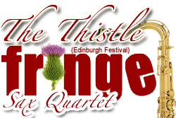 Edinburgh  Fringe Scottish Sax Quartet